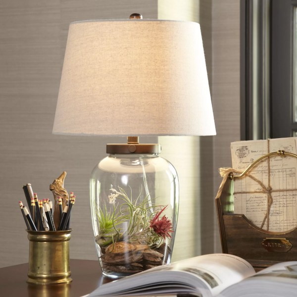 Birch Lane       Wallington Glass Table Lamp   Reviews   Birch Lane