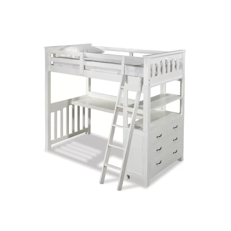 Loft Bed Twin With Desk And Storage