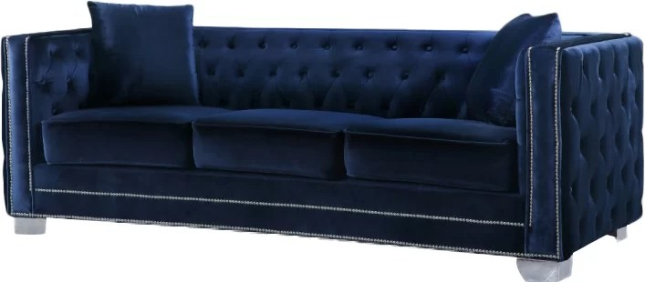 Creekside Chesterfield Sofa   Reviews   Joss   Main Creekside Chesterfield Sofa