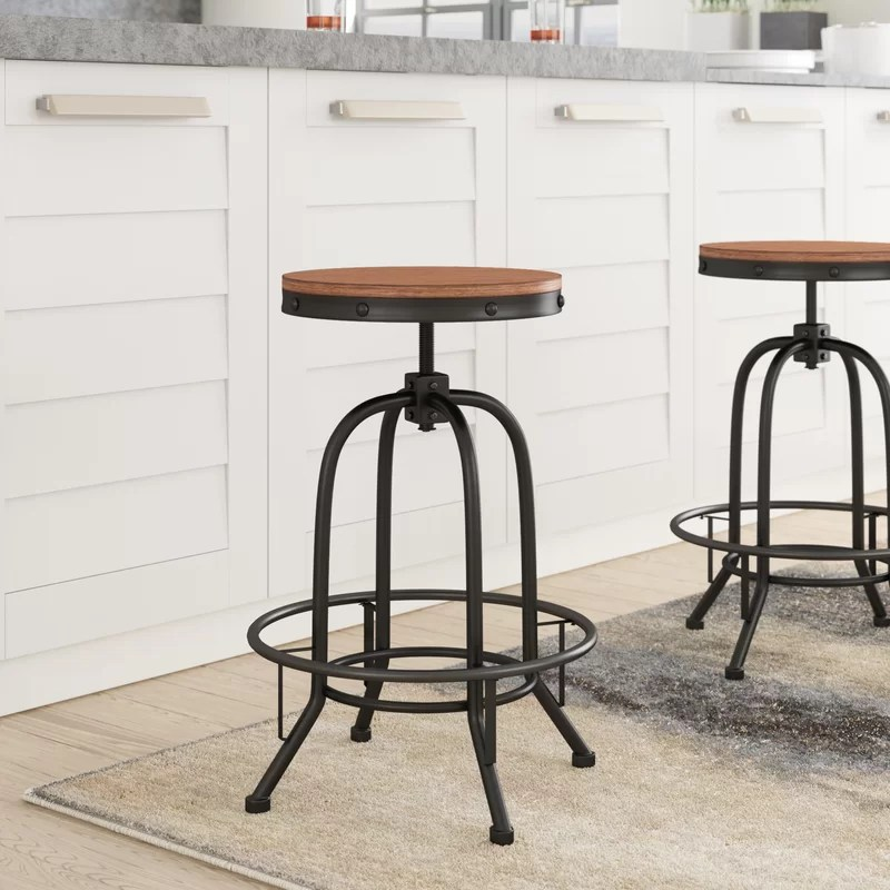 Backless Wood Bar Stools For Sale