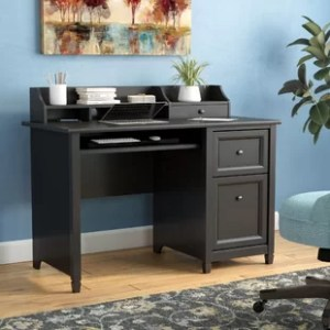 Hutch Desks You ll Love   Wayfair Lamantia Computer Desk with Hutch
