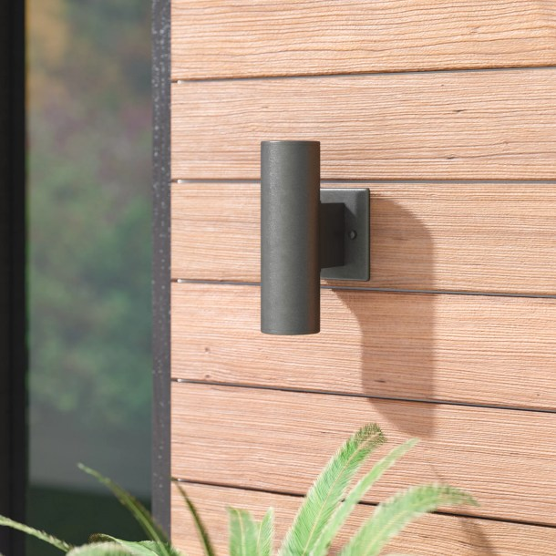 Lonerock 2-Light Outdoor Armed Sconce
