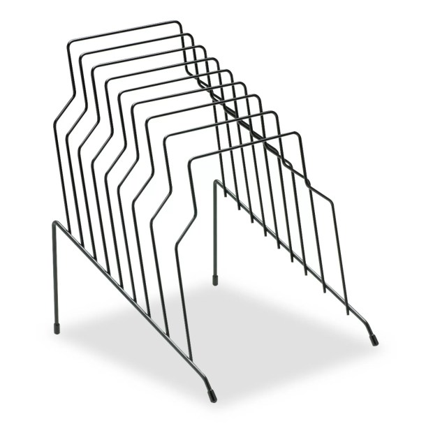 Zamora Step File, Eight Sections, Wire, 10 1/8 X 12 1/8 X 11 7/8