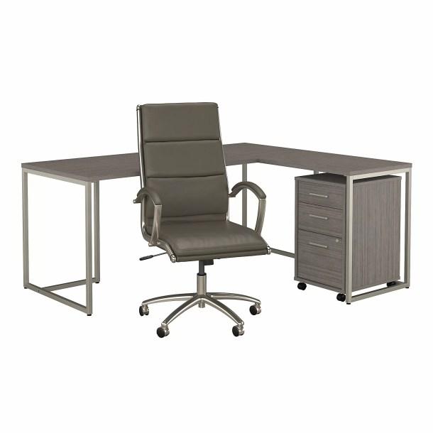 Method Desk, Filing Cabinet, Office Chair Set