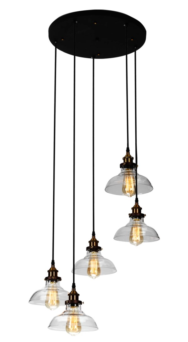 industrial cluster pendant lighting # 71