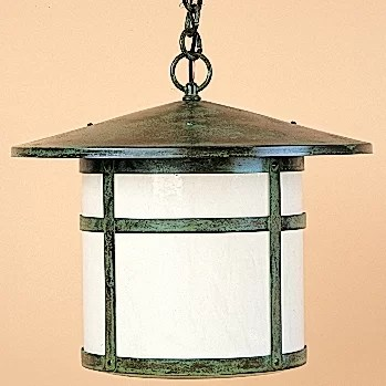 lantern pendant with shade # 57