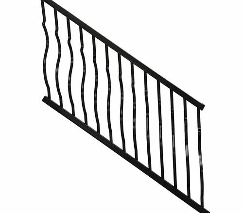 Modvue Baluster Stair Railing Wayfair | Pre Made Stair Railings | Aluminum Railing | Wrought Iron Railing | Deck Railing | Cable Railing Systems | Metal