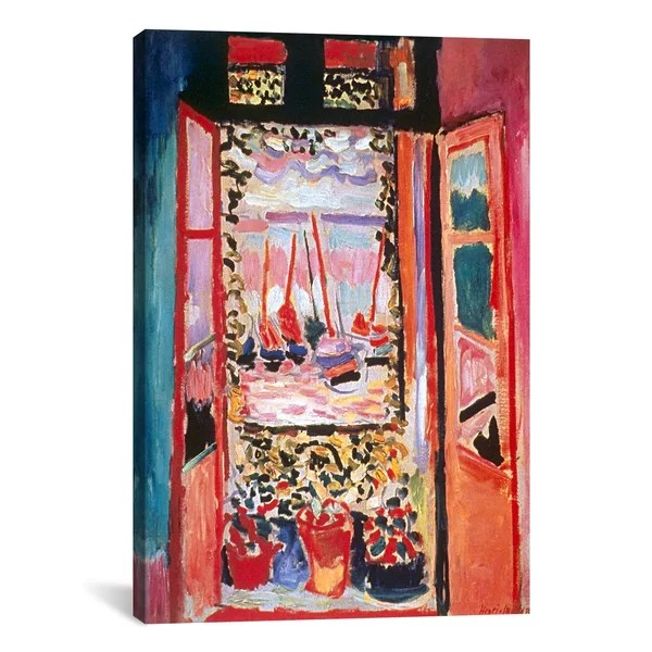 Open Window At Collioure 1905 By Henri Matisse Print