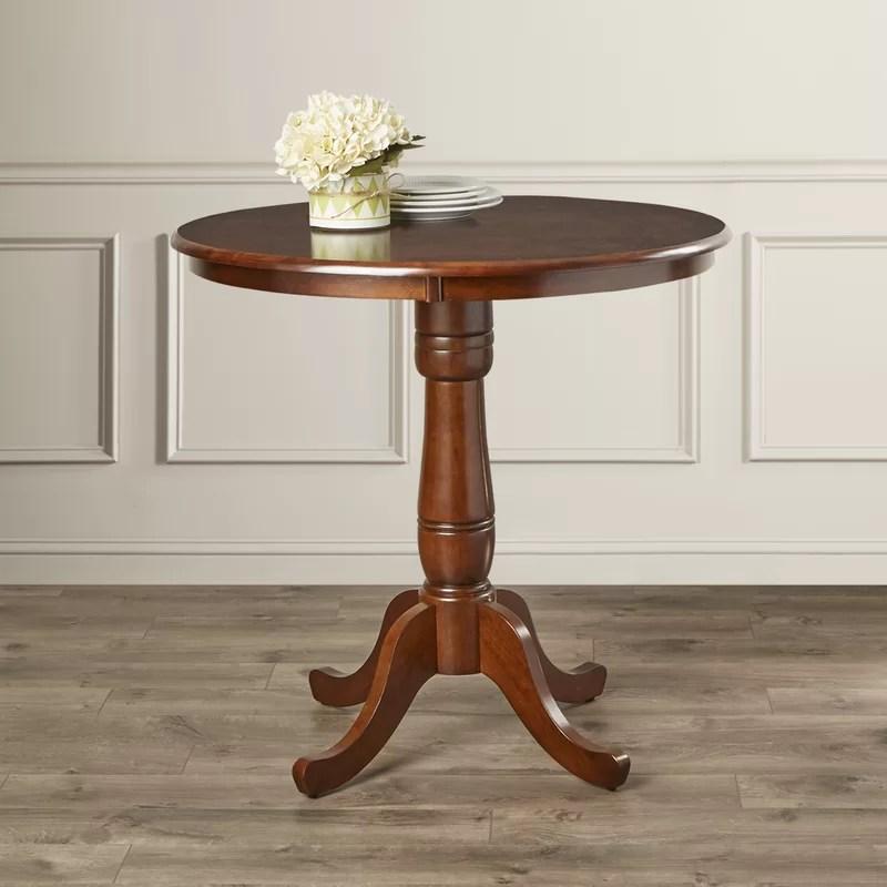 Doylan Rubberwood Solid Wood Dining Table