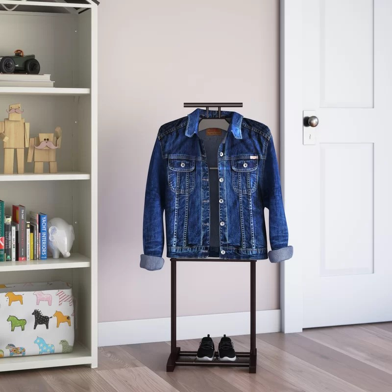 Mens Valet Stand With Chair