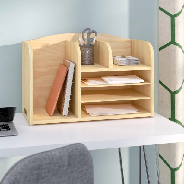 High Desk File Organizer