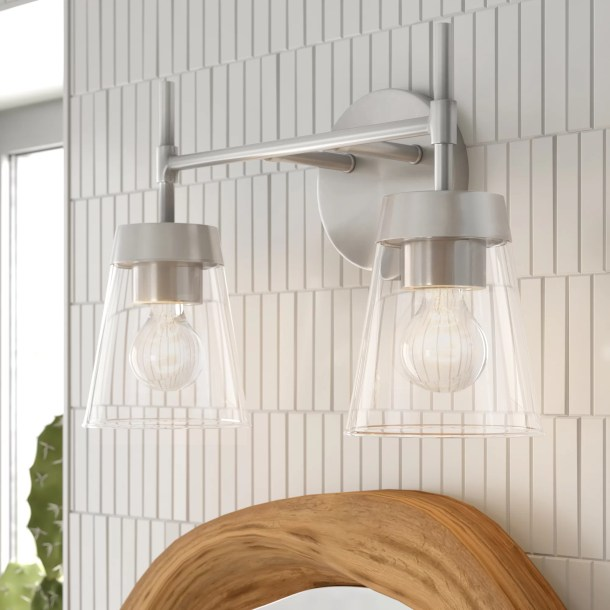 Russell 2-Light Dimmable Vanity Light