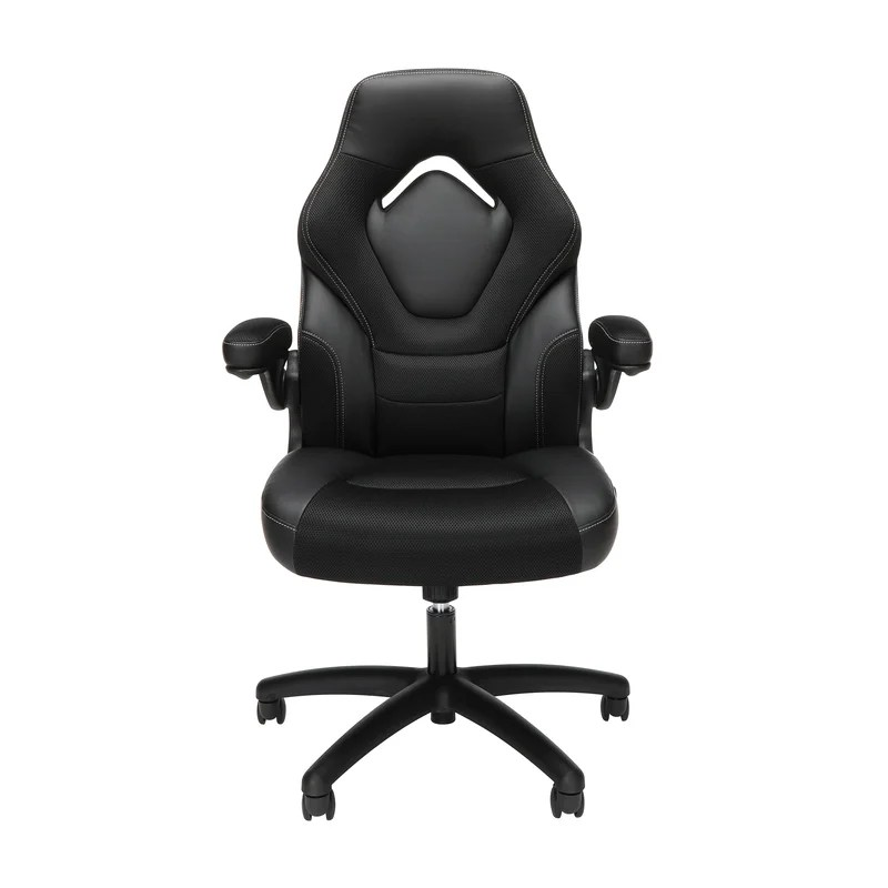 Lowndes Genuine Leather Gaming Chair