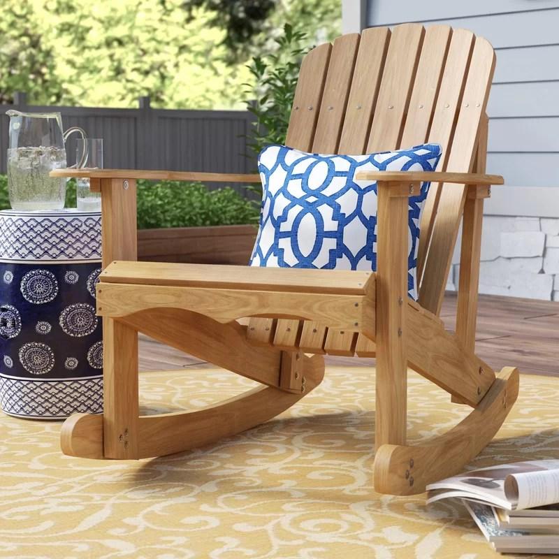 Rocking Adirondack Chair Plans Diy