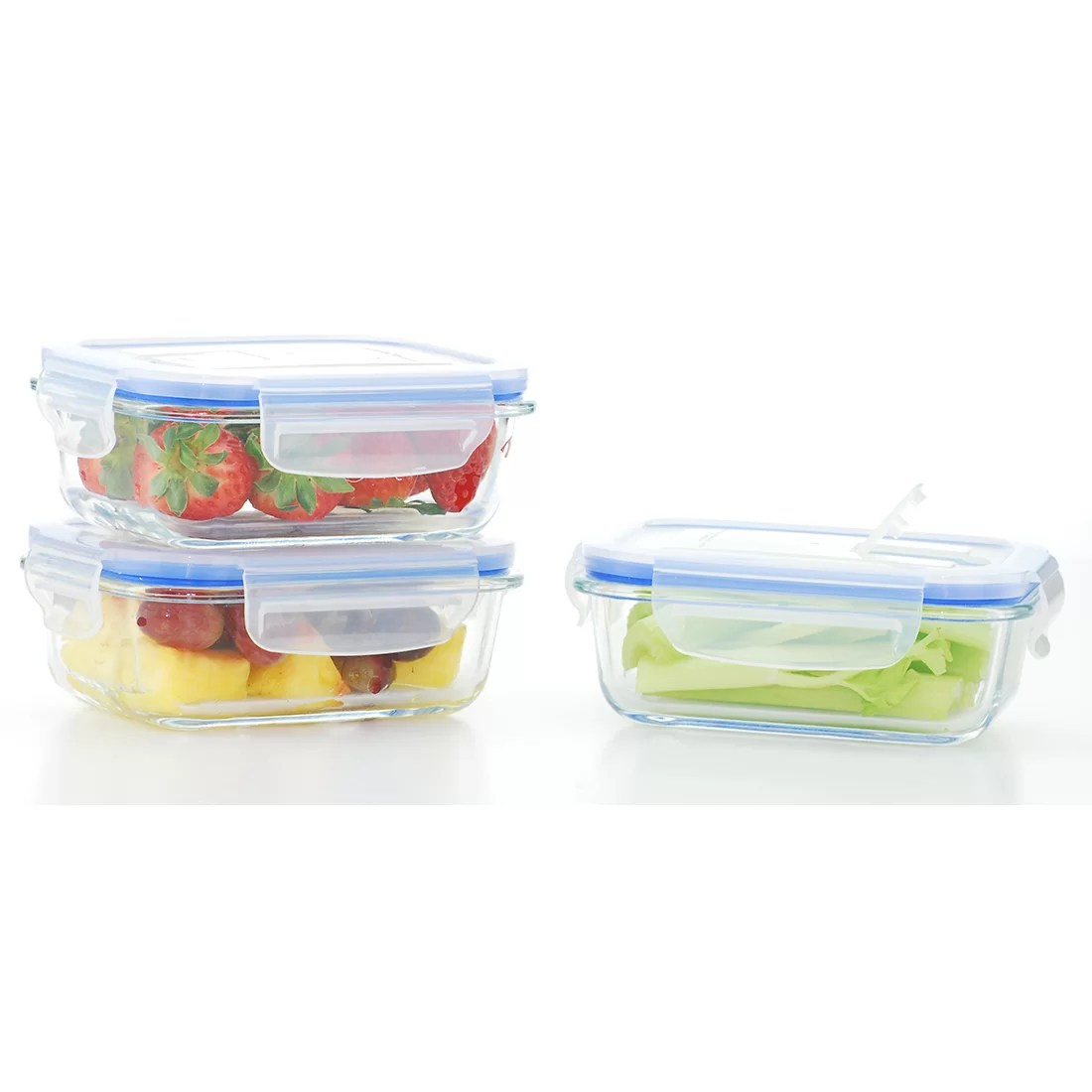 Kitchen Storage Containers With Locking Lids