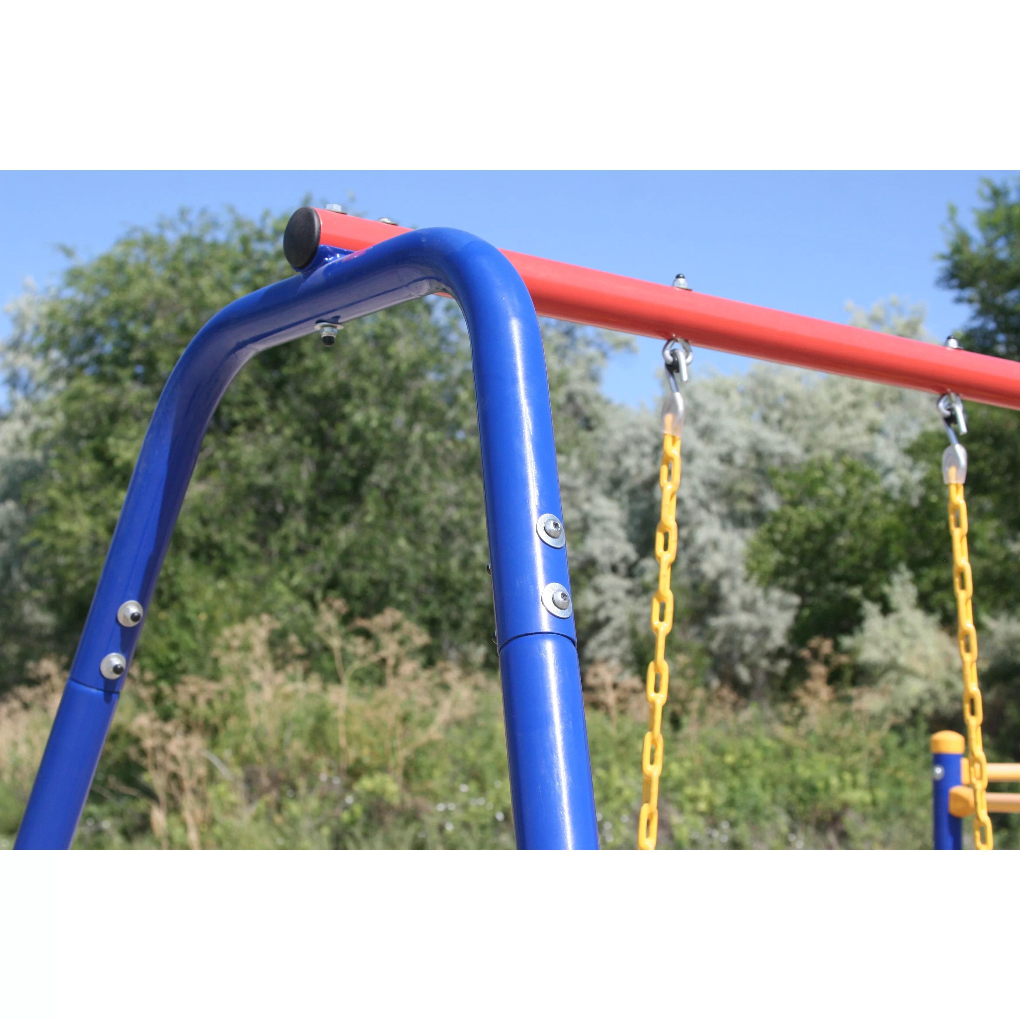 Trampoline Swing Set Combo
