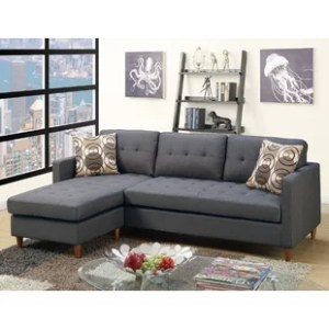 Grey Sectionals You ll Love   Wayfair Save
