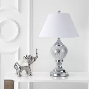 Mirrored Table Lamp   Wayfair Lasker Mirrored 27  Table Lamp