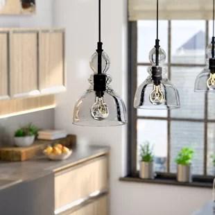 pendant lights for kitchen wayfair # 0