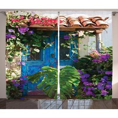 Sliding Patio Door Curtains | Wayfair
