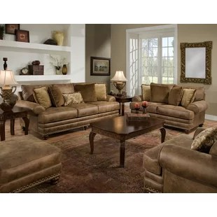 Living Room Sets You ll Love   Wayfair Claremore Configurable Living Room Set