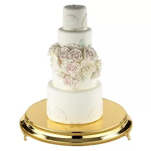 Large Wedding Cake Stand   Wayfair Save