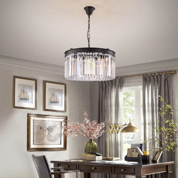 crystal chandelier tiered # 53