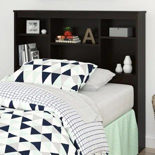 Bookcase Headboards You ll Love   Wayfair Save