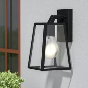 Outdoor Lighting You ll Love Wyndham 1 Light Outdoor Wall Lantern
