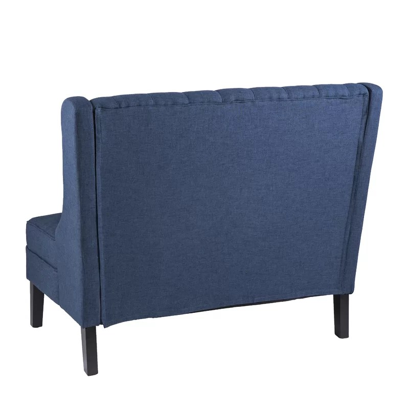 High Back Tufted Settee