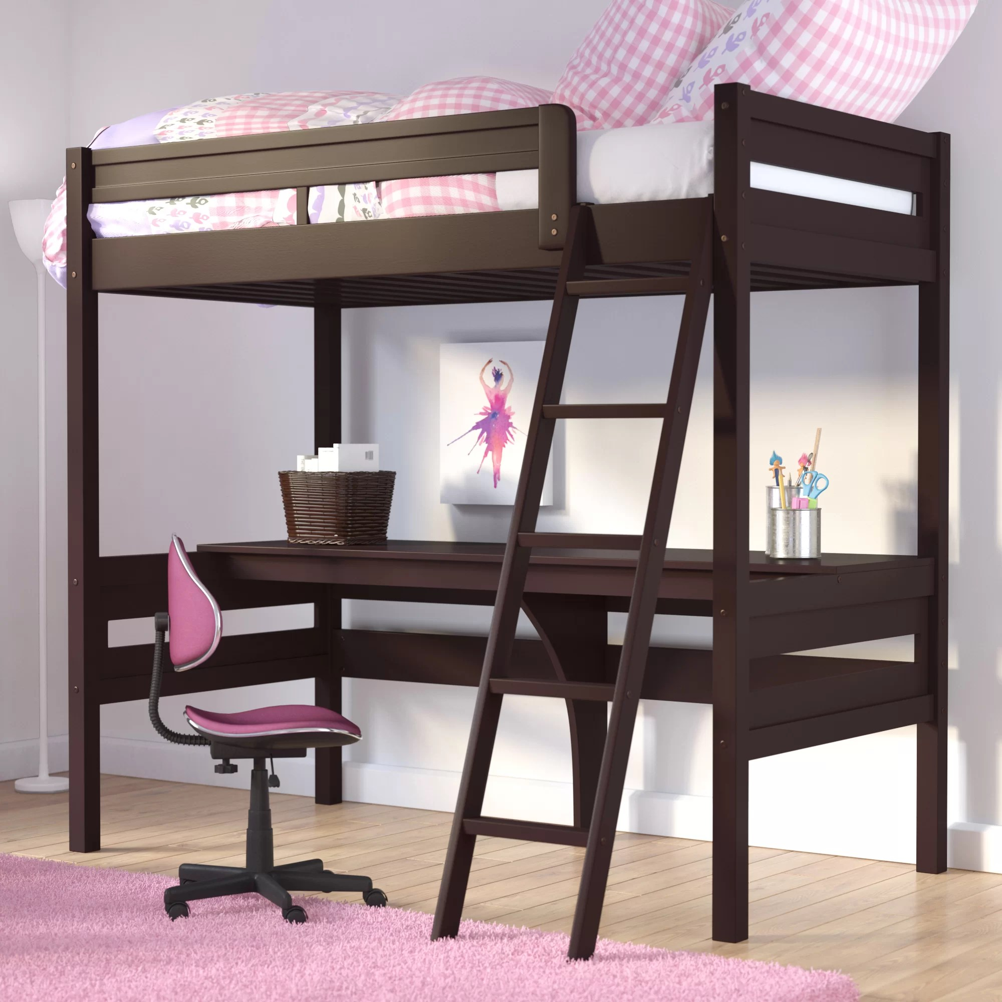 Desk Bunk Bed Systems
