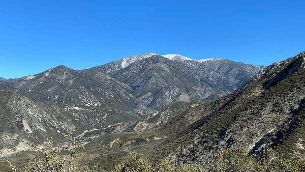 Mountains Mt Baldy Upland