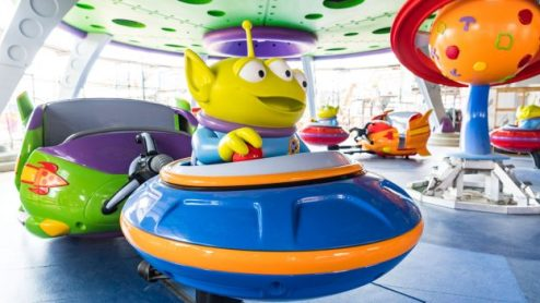 Sneak a Peek at Alien Swirling Saucers at Toy Story Land at Walt     Alien Swirling Saucers in Toy Story Land at Disney s Hollywood Studios