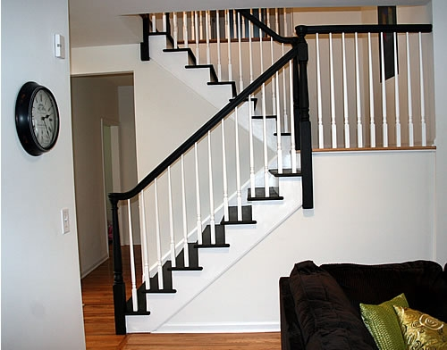 Painting Stairs Diy Faqs And Tips Your Home Only Better | Painted And Stained Stairs | Easy Diy | Two Tone | Espresso Stained | Pinterest | Home