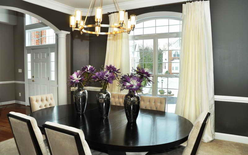 Beautiful Centerpieces Dining Room Table