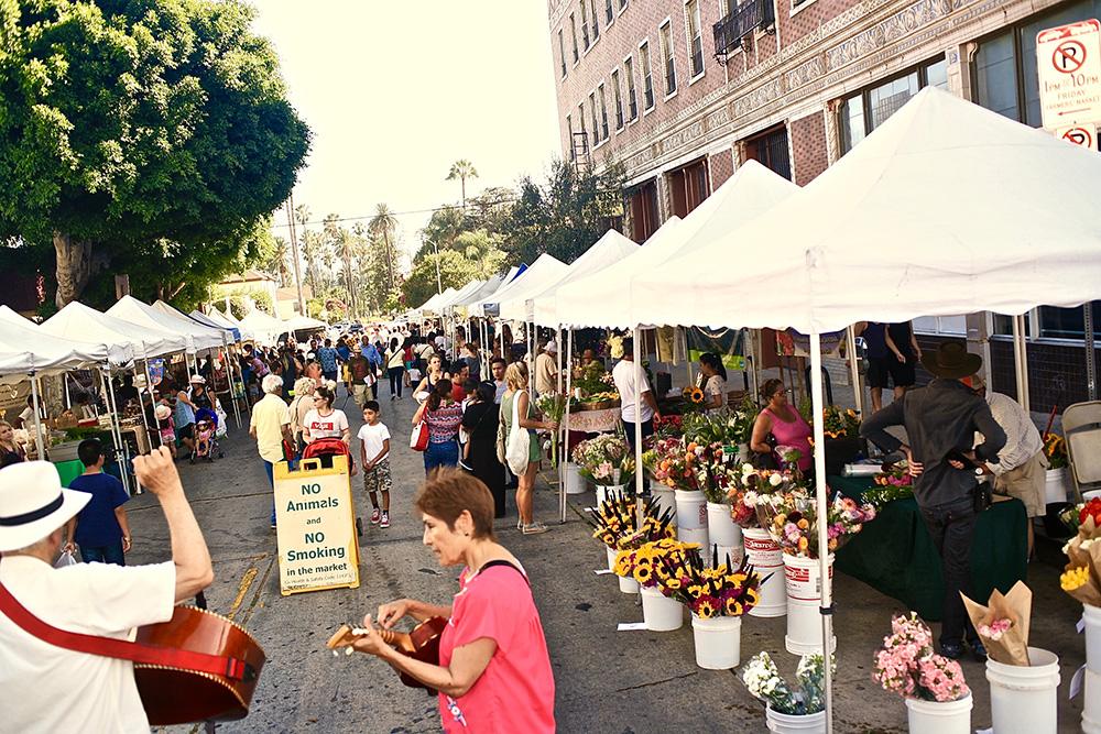 Farmers Market Park Great