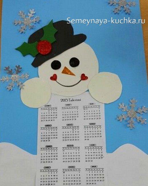 صنایع دستی کودکان برای سال نو از کاغذ