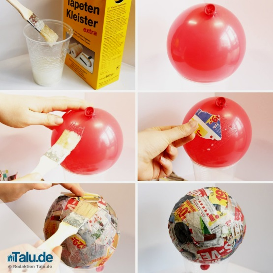 Balloon và người tuyết giấy