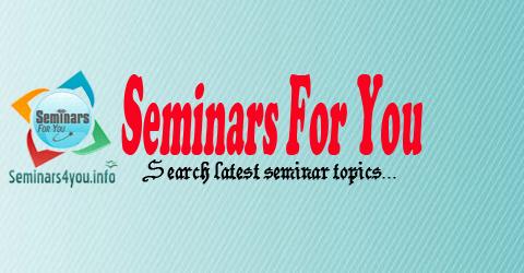 Seminars For You   Seminar Topics for Computer Science ...