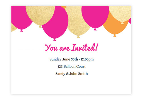 Make Birthday Invitation Cards Online Free Printable