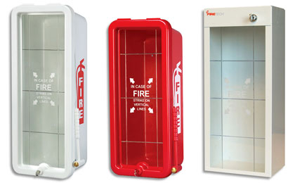 Fire Extinguisher Cabinets - Firetech - Fire Safety ...