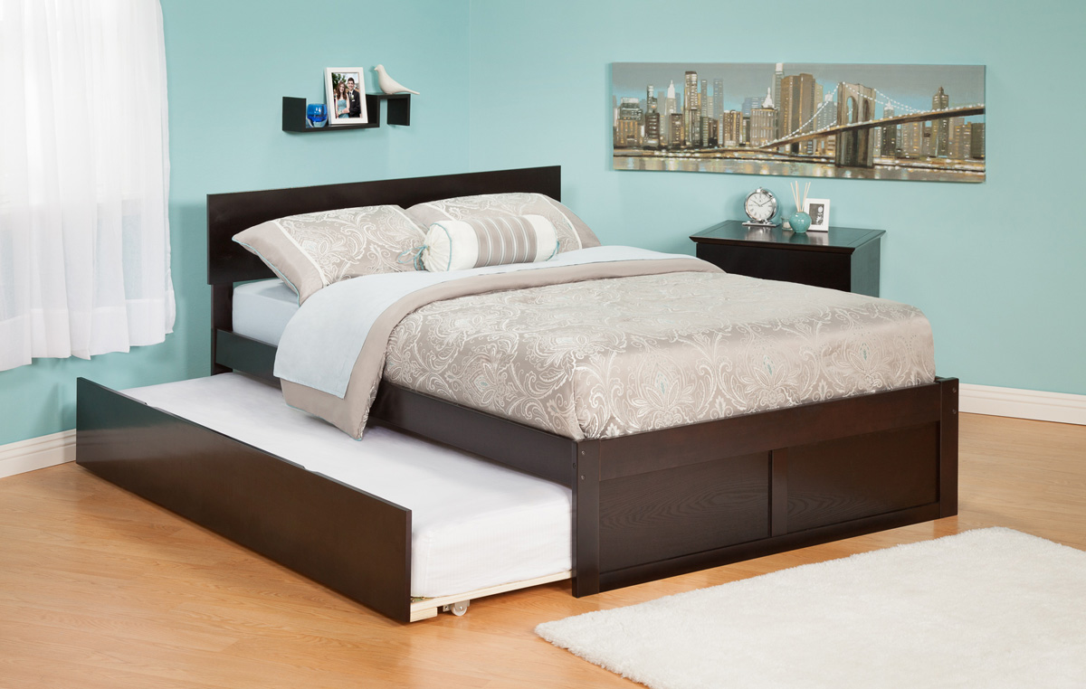 Urban Lifestyle Orlando Twin Size Platform Bed Flat Panel