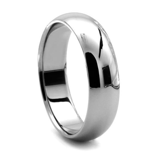 Womens Wedding Bands in Titanium   Titanium Bands for Ladies Tungsten Wedding Band   CLASSICO by J R  YATES