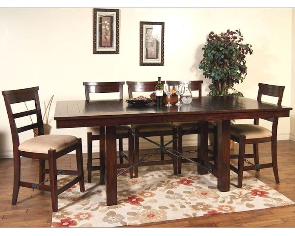 White Distressed Dining Room Sets