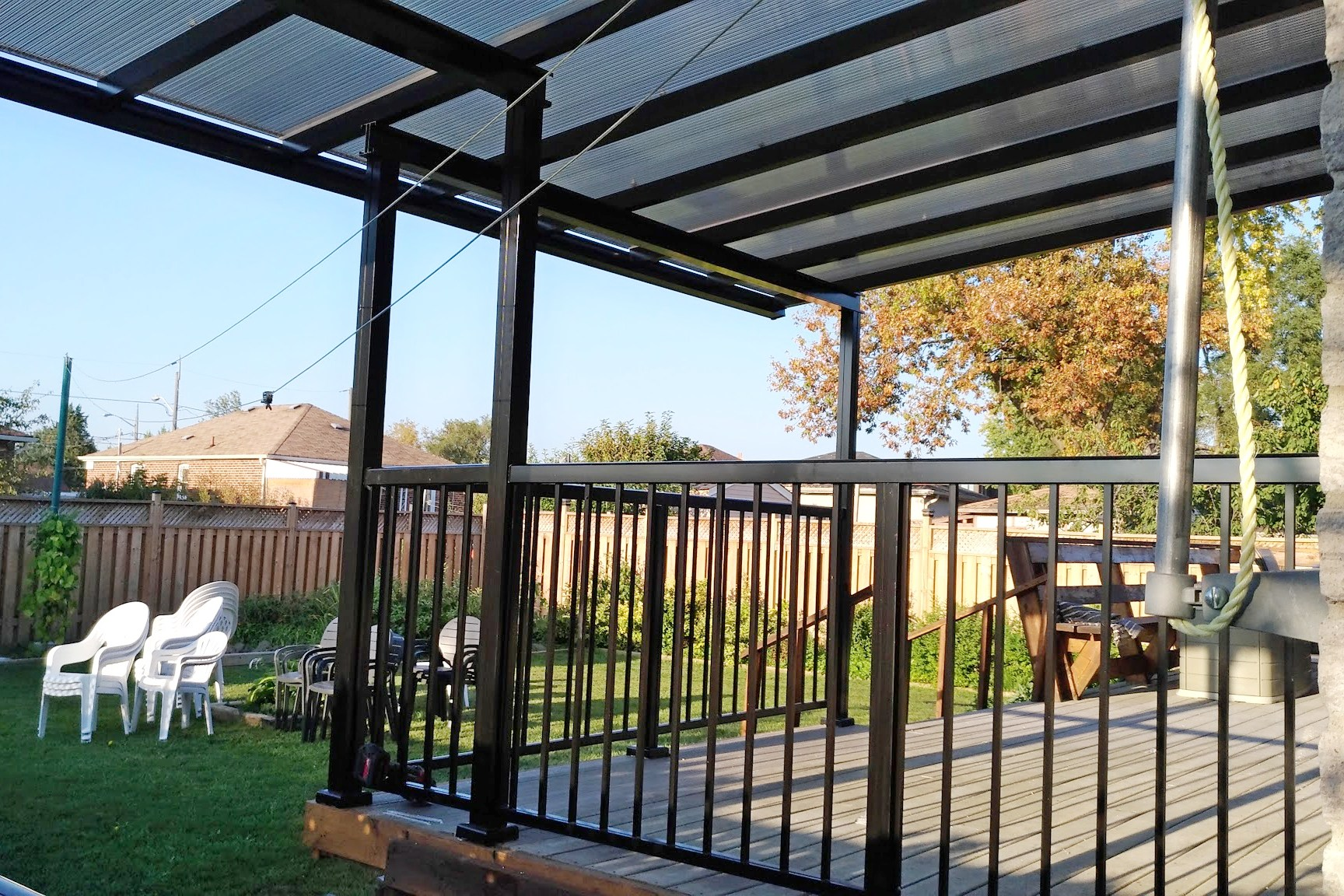 Clear Roofs Non Insulated Sepio Weather Shelters