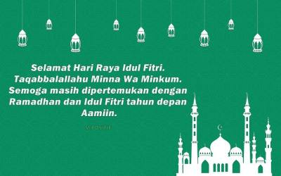 70+ Kata Kata Ucapan Selamat Hari Raya Idul Fitri 1440 H ...