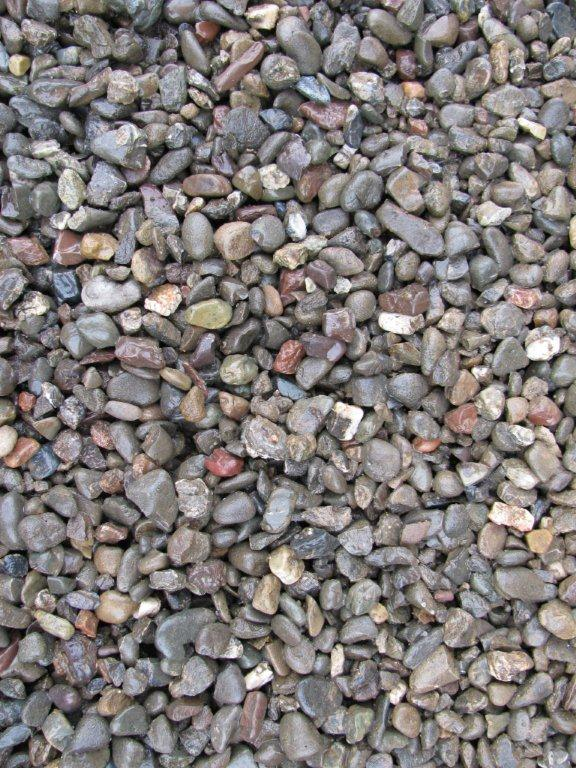 Pea Gravel Landscaping