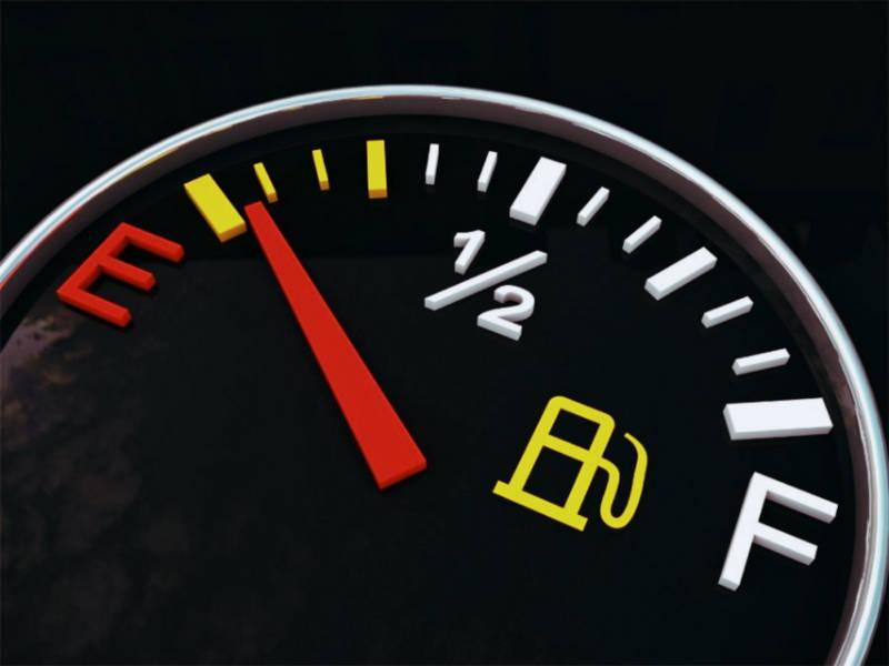 شاخص سطح بنزین