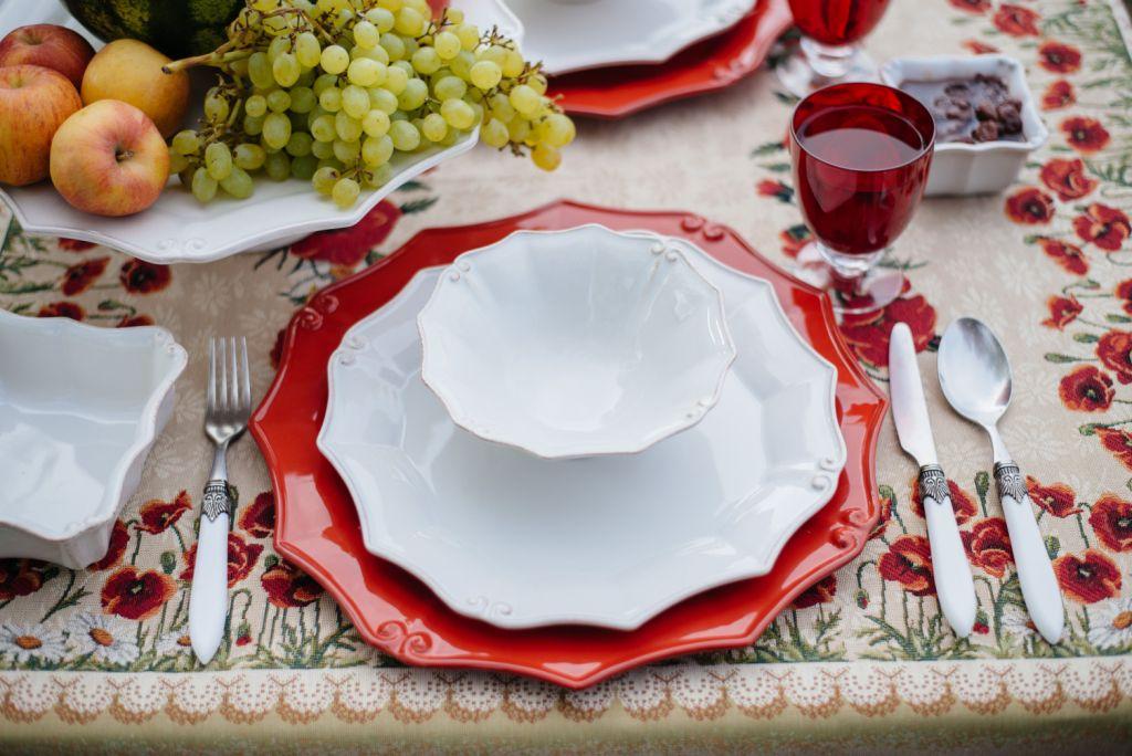 тарелка для сервировки