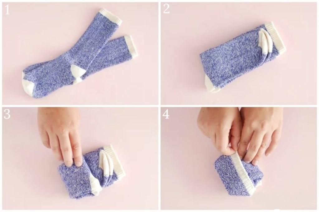 Cara menyimpan kaus kaki